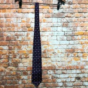 BROOKS BROTHERS MAKERS Mens Purple  Silk Necktie